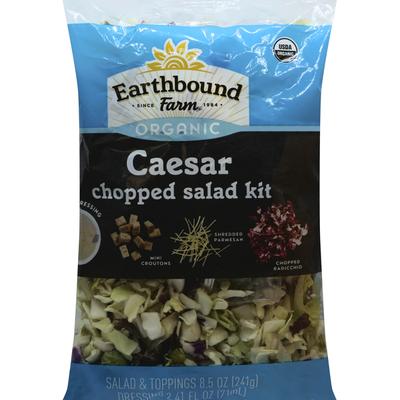 Earthbound Farms Salad Kit, Organic, Caesar, Chopped
