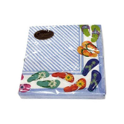Caspari Fancy Feet Luncheon Napkins