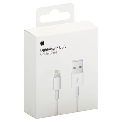 Apple Cable, Lightning to USB, 2M