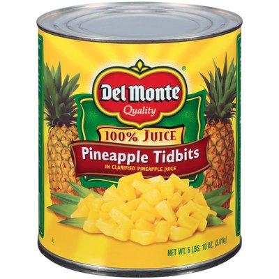 Del Monte Tidbits in Clarified Pineapple Juice Pineapple