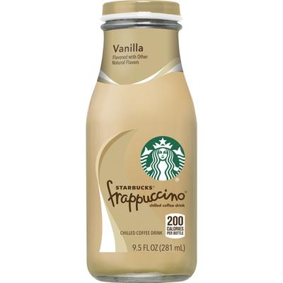 Starbucks Frappucino Vanilla Chilled Coffee Drink
