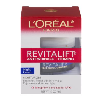 L'Oreal Anti Wrinkle + Firming Night Cream