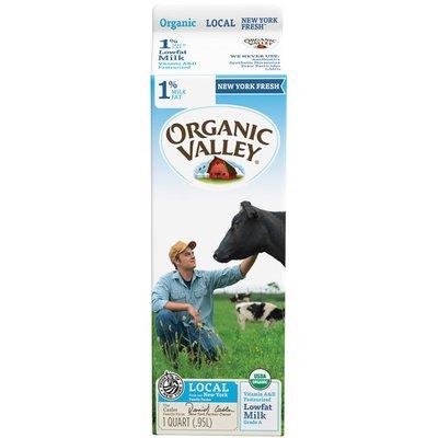 Organic Valley 1% Lowfat Milk