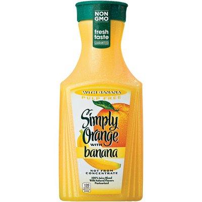 Simply Simply Orange with Banana Juice