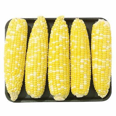 Wegmans Husked Bi-Color Corn, 5 ct