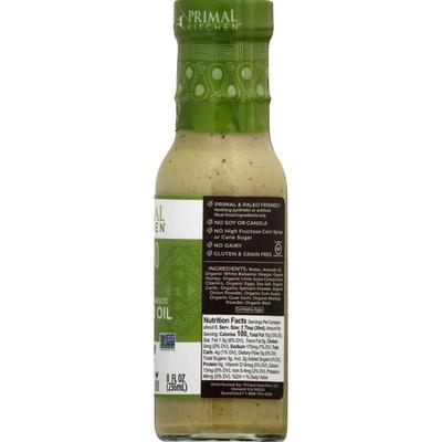 Primal Kitchen Dressing & Marinade, Cilantro Lime