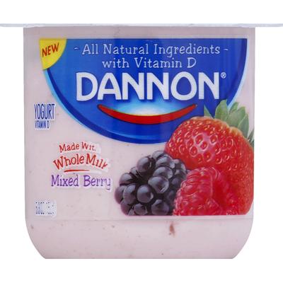 Dannon Blended Mixed Berry Yogurt