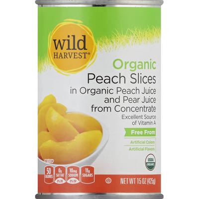 Wild Harvest Peach Slices