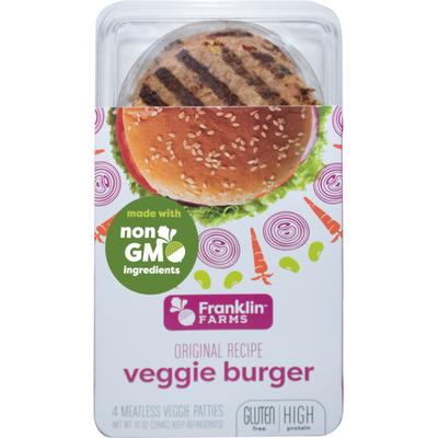 Franklin Farms Veggie Burger, Original Recipe