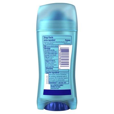 Secret Invisible Solid Antiperspirant Deodorant For Women, Completely