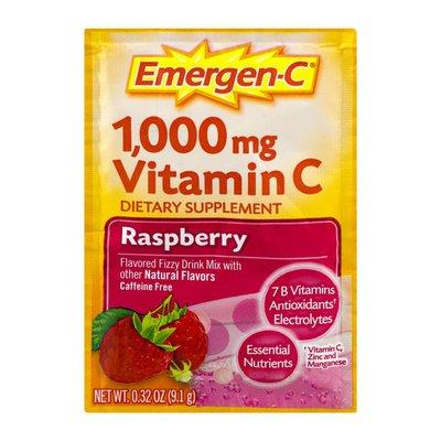 Emergen-C Dietary Supplement Raspberry