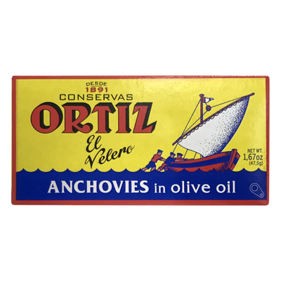Conservas Ortiz Anchovies in Olive Oil
