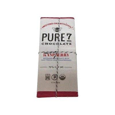 Pure7 72% Cacao Raspberry Chocolate Bar
