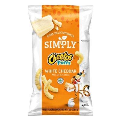 Cheetos Simply Puffs White Cheddar Cheese