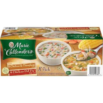 Marie Callender's Chicken Pot Pie And Chicken Dumpling Soup