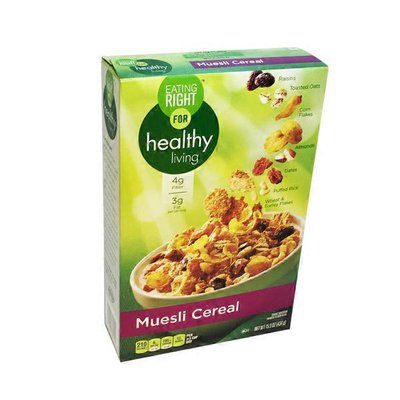 Eating Right for Healthy Living Muesli Cereal