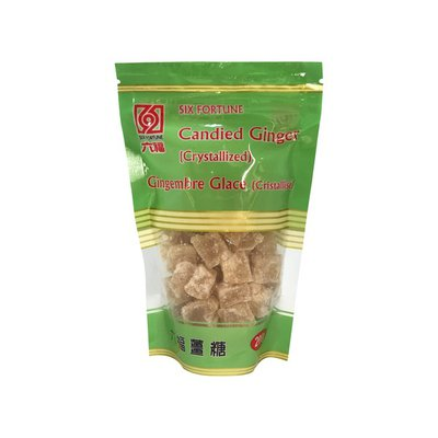 Six Fortune Candied Ginger