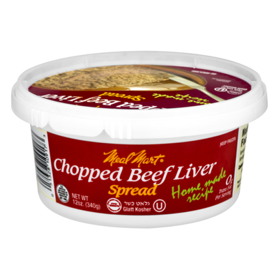 Meal Mar Spread Chopped Beef Liver