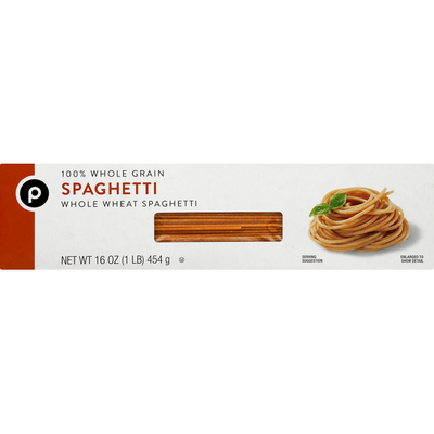 Publix Spaghetti, Whole Wheat