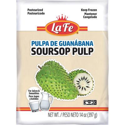 La Fe Guanabana Soursop Pulp