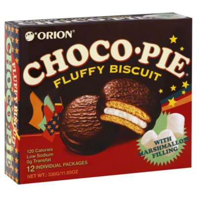 Orion Biscuit, Fluffy, with Marshmallow Filling