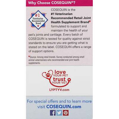 Cosequin Joint Health Support, Maximum Strength, Sprinkle Capsules