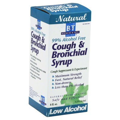B&T Cough & Bronchial Syrup, Maximum Strength, Low Alcohol