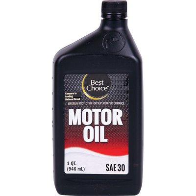 Best Choice Motor Oil SAE 30