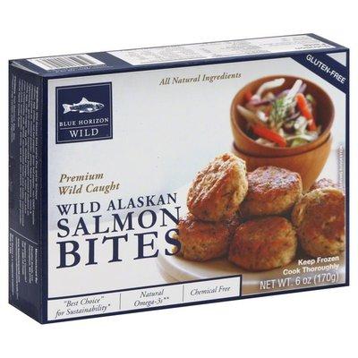 Blue Horizon Salmon Bites, Wild Alaskan