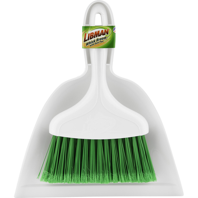 Libman Whisk Broom, with Dust Pan