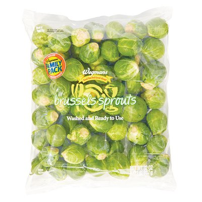 Wegmans Food You Feel Good About Brussels Sprouts, FAMILY PACK