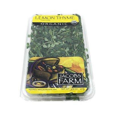 Jacob's Farm Organic Lemon Thyme
