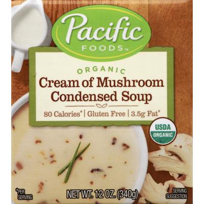 Pacific Organic Cream of Mushroom Condensed Soup