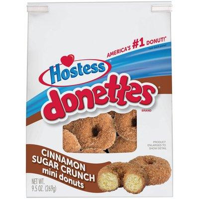 Hostess Cinnamon Sugar Crunch Donettes