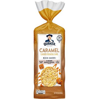 Quaker Rice Cakes Caramel Corn