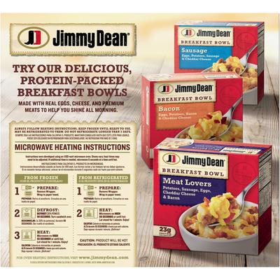 Jimmy Dean Frozen Sausage, Egg & Cheese Biscuit Breakfast Sandwiches