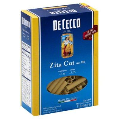 De Cecco Zita Cut, No. 118