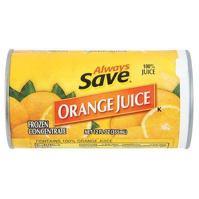 Always Save Orange Juice