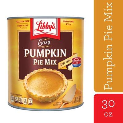 Libby's Easy Pumpkin Pie Mix Pumpkin Pie Mix