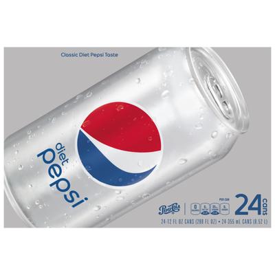 Diet Pepsi Cola Soda