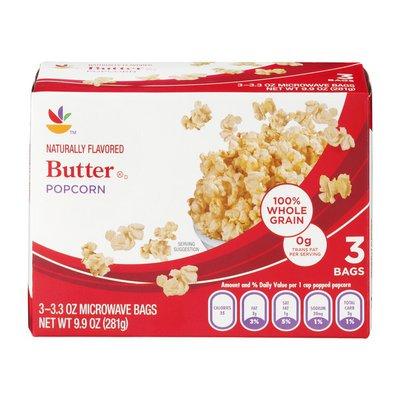 SB Butter Popcorn - 3 CT