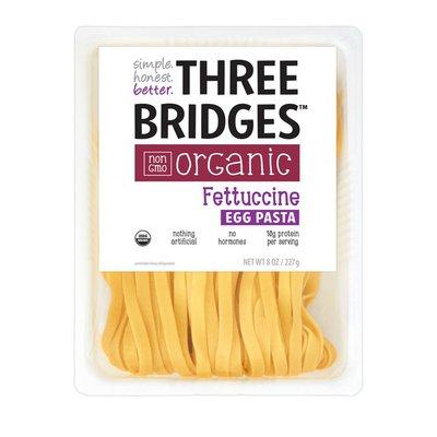 Three Bridges Fettuccine, Organic