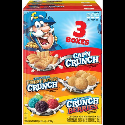 Cap'N Crunch Variety Pack