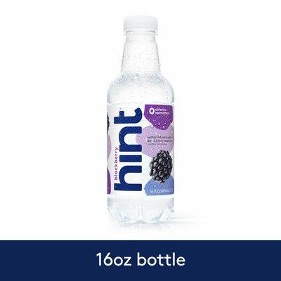 hint Blackberry Flavored Water