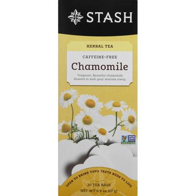 Stash Tea Herbal Tea, Caffeine-Free, Chamomile