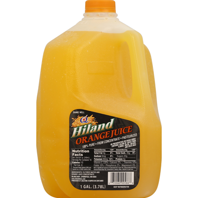 Hiland Dairy Orange Juice