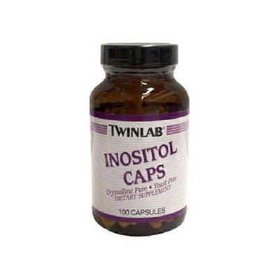 Twinlab Inositol Caps 500 Mg (Crystalline Pure & Yeast Free)