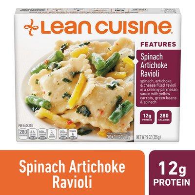 Lean Cuisine Spinach Artichoke Ravioli