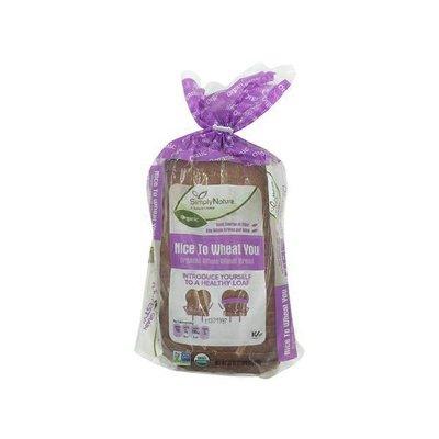 Simply Nature Organic Whole Wheat Bread