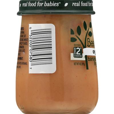 Beech-Nut Organics Banana, Cinnamon & Granola